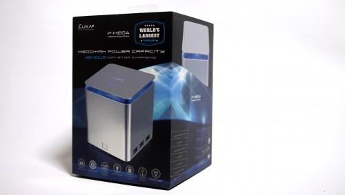 MEGATech Reviews - LUXA2 P-MEGA 41600mAh Portable USB Power Station