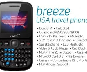New Updated Breeze Travel Phone Arrives at Roam Mobility