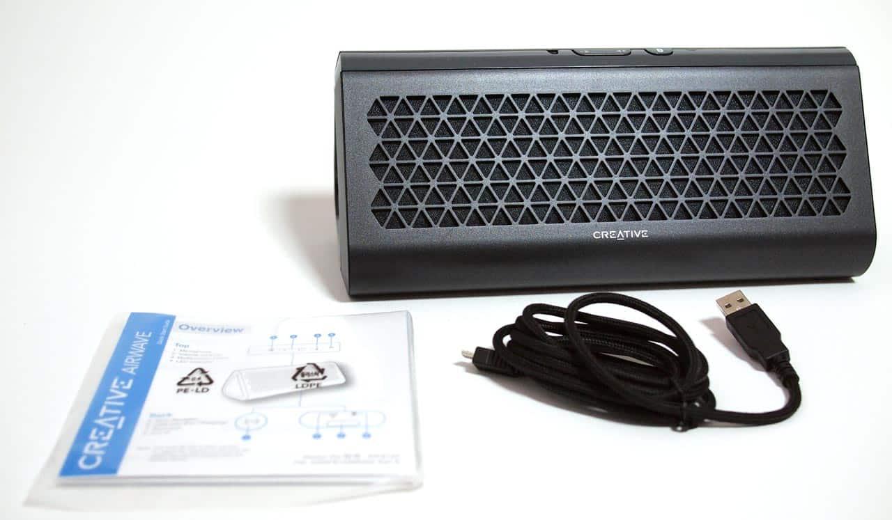 MEGATech Reviews - Creative Airwave Wireless Bluetooth Speaker