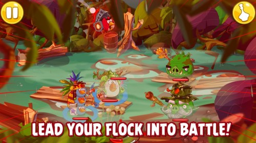 Angry Birds Epic Turn-Based RPG Launches in Battle This Week