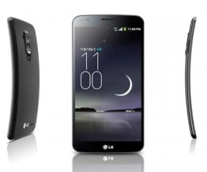 LG G Flex Coming to Canada Next Week