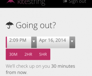 Kitestring: Because Everyone Needs a Little Peace of Mind