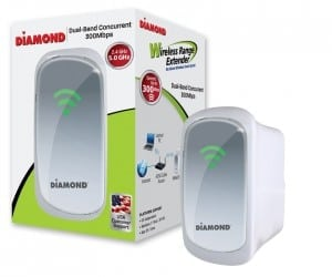 Diamond Releases the WR600NSI Wireless Range Extender