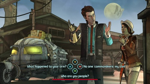 First Tales from the Borderlands Screenshots from Telltale Games