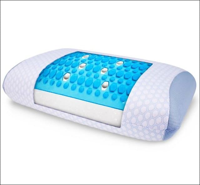 Best Gel Infused Cooling Pillow Beats The Heat Megatechnews