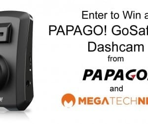 MEGATech Giveaway: Win a PAPAGO! GoSafe 330 Dashcam
