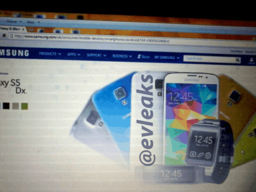 Samsung Galaxy S5 Dx (S5 Mini) Leaked in Colorful Photos