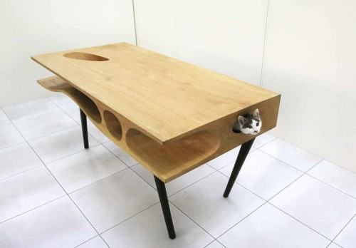 CATable Could Bring an End to Cat Vs. Desk Wars