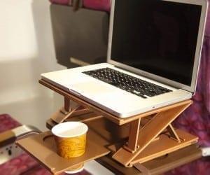 Aero-Tray Makes In-Flight Productivity Possible