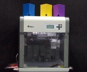 COMPUTEX 2014: Kinpo's XYZprinting da Vinci 3D Printer for Only $500