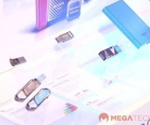 MEGATech Videos: ADATA PV110 Power Bank and Illuminating Concept Designs at COMPUTEX 2014