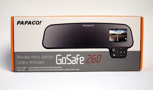MEGATech Reviews: PAPAGO! GoSafe 260 Rearview Mirror Dashcam