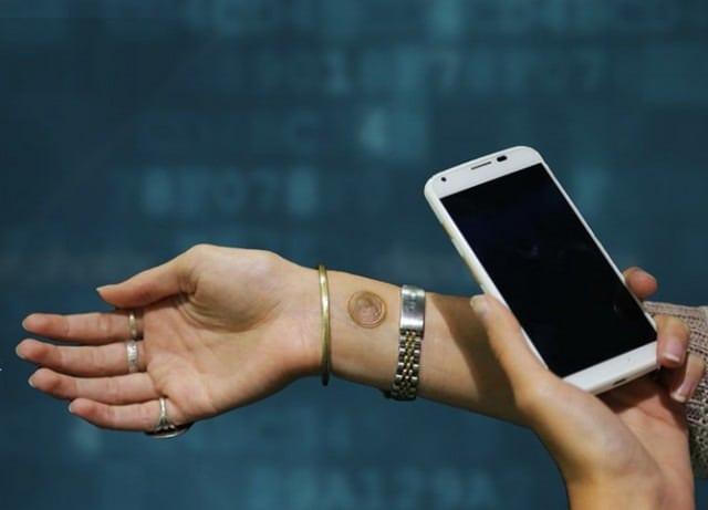Motorola Digital Tattoo Unlocks Your Smartphone