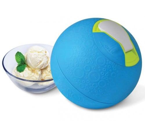 Kickball Ice Cream Maker Trades Exercise for Dessert