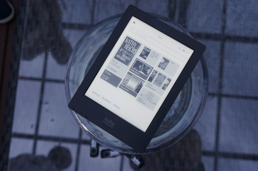 kobo aura read pdf files