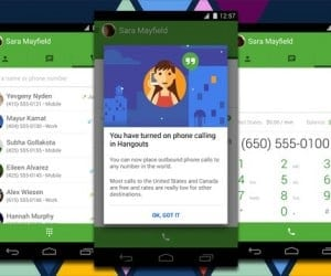 Google Updates Hangouts for Android, Adds Free US and Canada Calling