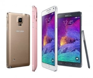 Samsung Unveils the Galaxy Note 4 and Galaxy Note Edge