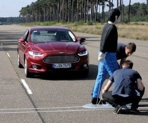 Saving Lives with Ford Pre-Collision Assist Technology (Video)