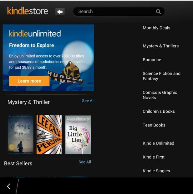 Enjoy Two-Column Kindle Reading on BlackBerry Passport