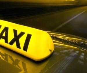 Taxi Protest at SFO Causes Gridlock