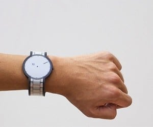Sony's E-Ink FES Watch May Not Be Smart, But It's Pretty