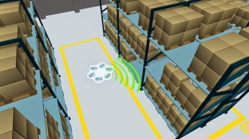 German Company is Using Warehouse Drones That Check Inventory
