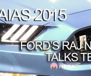 MEGATech Videos - Ford's Raj Nair Talks Ford GT, GT350R, Raptor F-150 Behind the Blue Oval (NAIAS 2015)