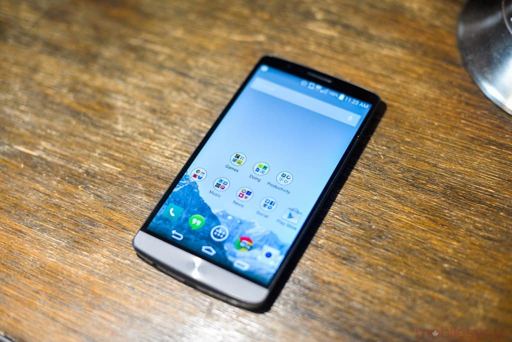 LG G3 Available at Fido in Canada