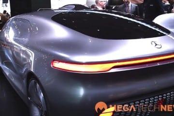 MEGATech Videos: Mercedes-Benz F 015 Self-Driving Car at NAIAS 2015