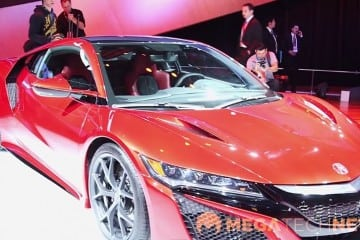 MEGATech Videos: The All-New Acura NSX at NAIAS 2015