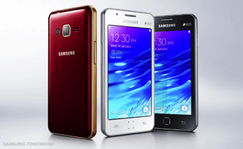 Samsung Releases The Z1, Their First Tizen OS phone, in India
