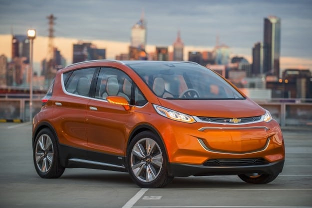 NAIAS 2015 - Chevrolet Has Tesla in their Sights with the Bolt EV