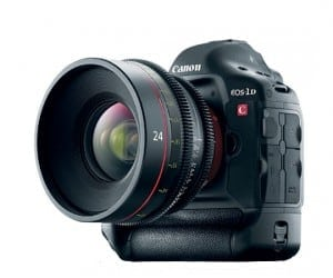 The Canon EOS 1DC 4K Cinema DSLR drops 4K in Price