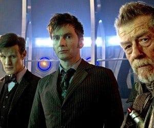LEGO Working on Doctor Who Playset