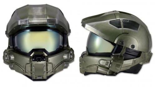 The Master Chief Motorcycle Helmet Is Real and DOT-Approved