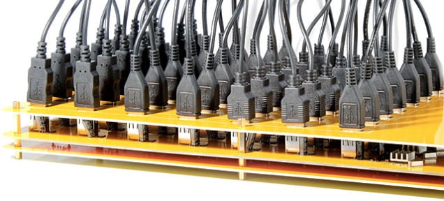 49-Port USB Hub: Plug In All the Things!