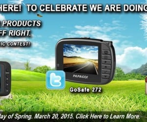 PAPAGO! Spring Giveaway Offering Up Free Goodies