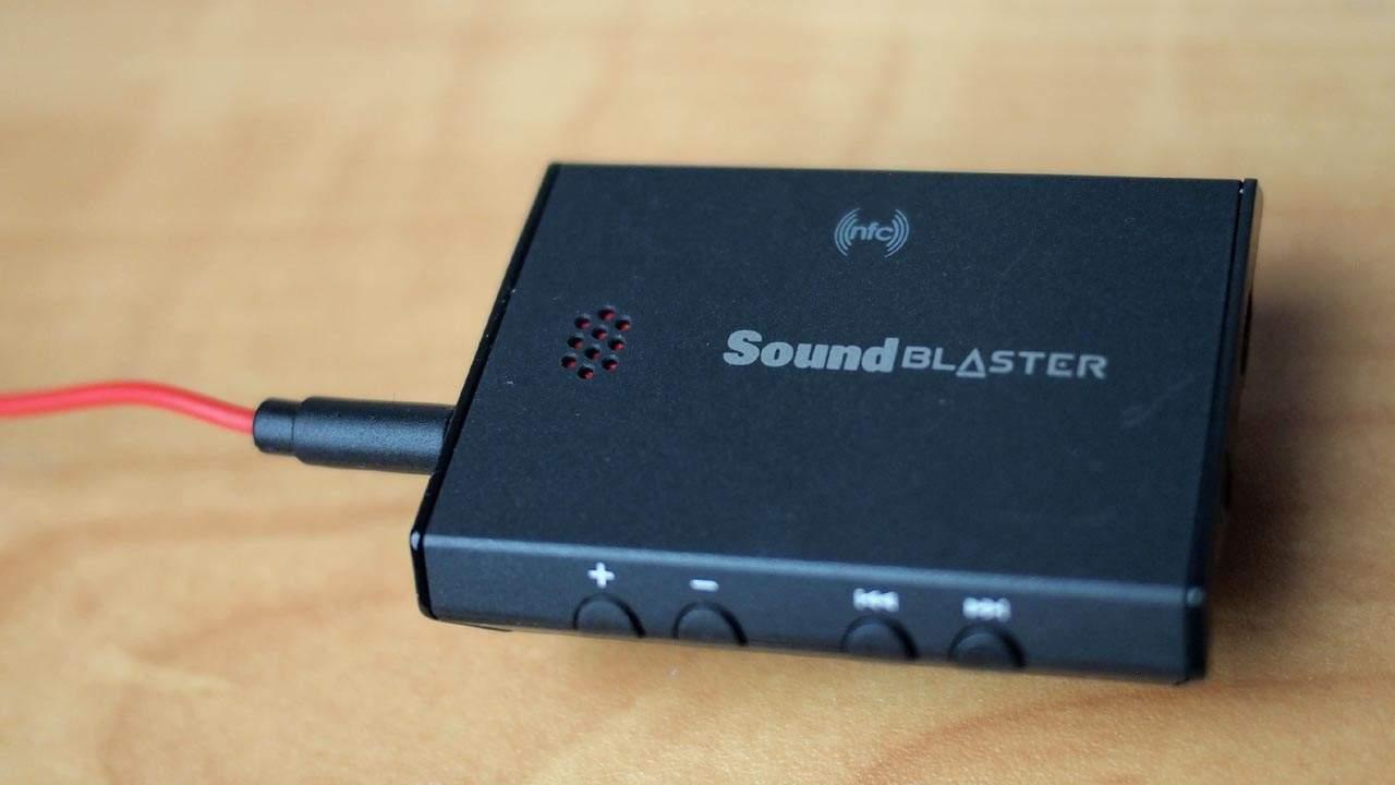 MEGATech Reviews: Creative Sound Blaster E3 USB DAC and Headphone