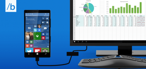 Microsoft's Continuum Will Let You Turn Your Phone into a Desktop PC