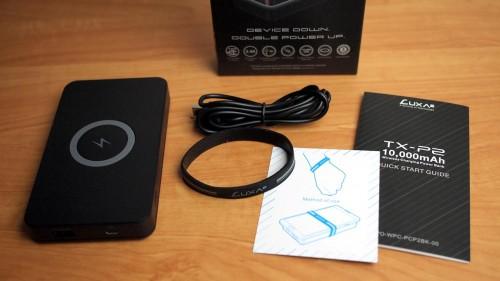 MEGATech Reviews: LUXA2 Thermaltake Mobile TX-P2 Wireless Power Bank