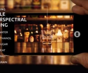 Unispectral Camera Sees Inside Pictures