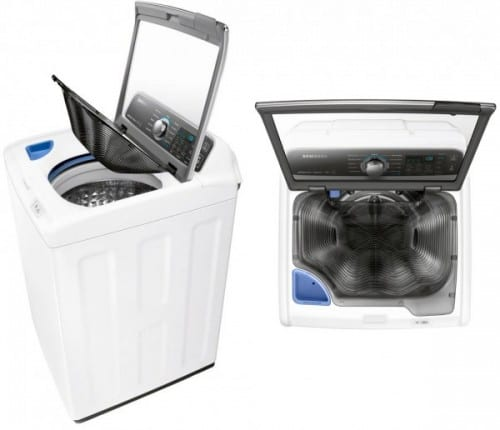 Samsung's New Washer Makes Laundry a Breeze