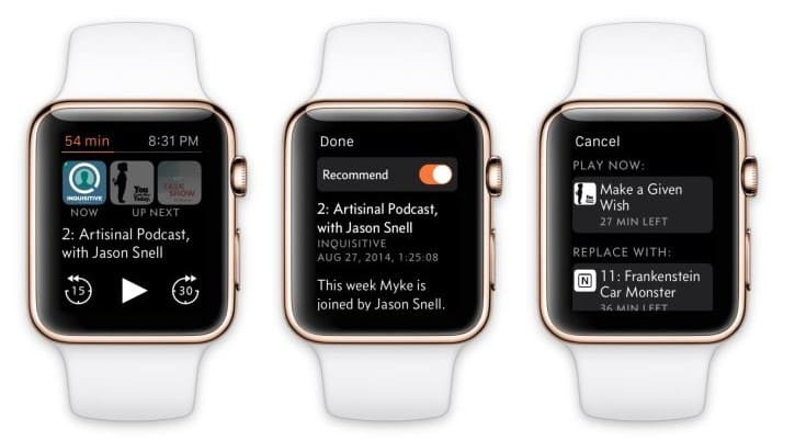 Listen to Podcasts on the Apple Watch