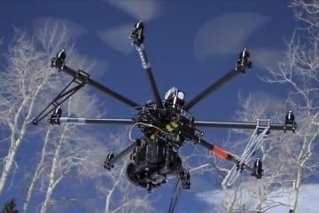 Man's Custom Hexacopter Drone Shot Down by Neighbor's Shotgun