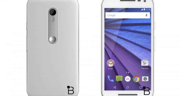 Leaked Photo Shows Moto G Available in White
