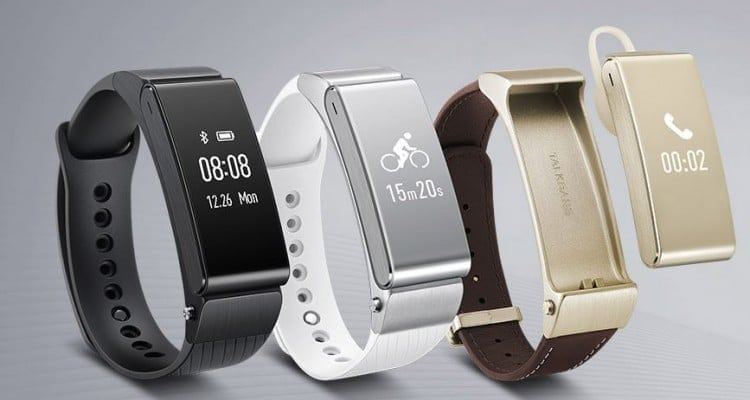 Huawei TalkBand B2 Works with Jawbone Up Mobile App