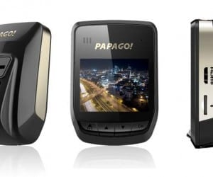 PAPAGO! GoSafe 318 Dashcam Sees in the Dark with Sony Exmor