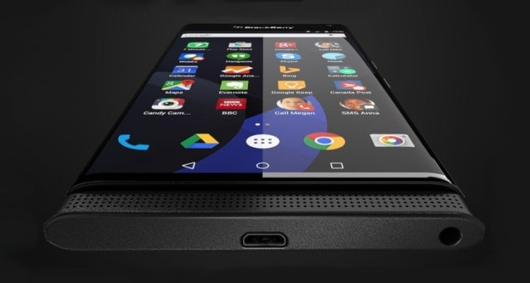 Is This BlackBerry's Rumored Android Phone?