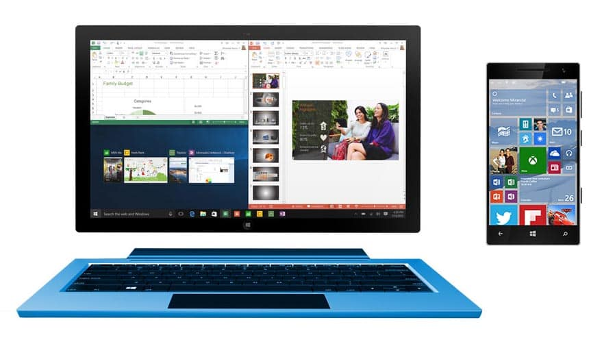 Windows 10 Mobile and Tablet