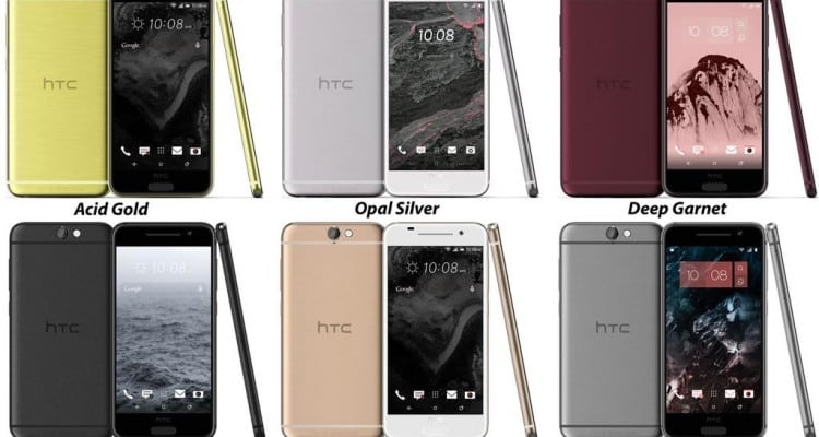 New HTC One A9 Leak Shows Detail, Multiple Colors